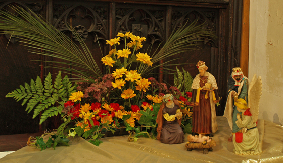 Epiphany Flower Display