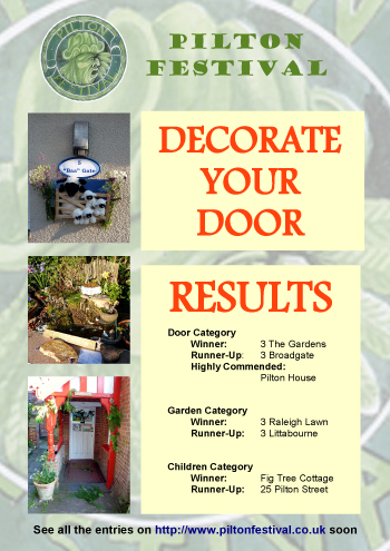 Decorate Your Door results